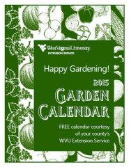 WVU 2015 Garden Calendar