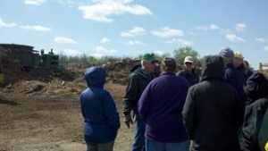 Outside at Tabb Composting